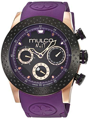 マルコ 腕時計 メンズ MW5-1962-445 【送料無料】MULCO Unisex MW5-1962-445 Analog Display Swiss Quartz Blue Watchマルコ 腕時計 メンズ MW5-1962-445