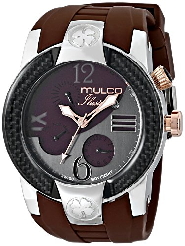 マルコ 腕時計 メンズ MW5-1877-035 【送料無料】MULCO Unisex MW5-1877-113 ILUSION Crescent Analog Display Swiss Quartz Multifunctional Watch (Brown)マルコ 腕時計 メンズ MW5-1877-035