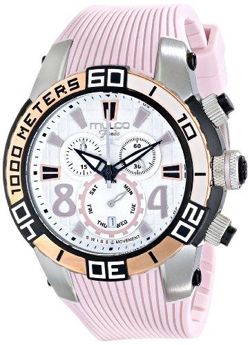 マルコ 腕時計 レディース MW1-74197-813 【送料無料】MULCO Unisex MW1-74197-813 Analog Display Swiss Quartz Pink Watchマルコ 腕時計 レディース MW1-74197-813