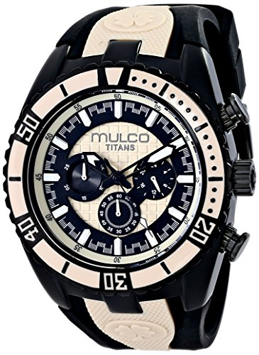 マルコ 腕時計 メンズ MW5-1836-115 MULCO Unisex MW5-1836-115 Titan Wave Analog Display Japanese Quartz Black Watchマルコ 腕時計 メンズ MW5-1836-115