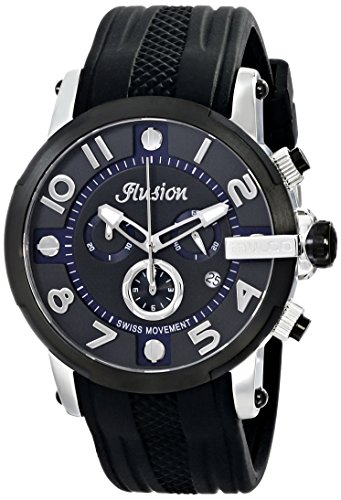 マルコ 腕時計 メンズ MW3-12239-025 【送料無料】MULCO Unisex Ilusion Roll Analog Display Swiss Quartz Watch - Multifunctional 100% Silicone Band Stainless Steel (Black)マルコ 腕時計 メンズ MW3-12239-025