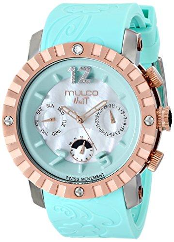 マルコ 腕時計 レディース MW5-1876-413 【送料無料】MULCO Unisex MW5-1876-413 Nuit Lace XL Analog Display Swiss Quartz Blue Watchマルコ 腕時計 レディース MW5-1876-413