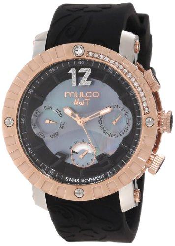 マルコ 腕時計 メンズ MW5-1622-023 【送料無料】Mulco Unisex MW5-1622-023 Nuit Lace Chronograph Swiss Movement Watchマルコ 腕時計 メンズ MW5-1622-023
