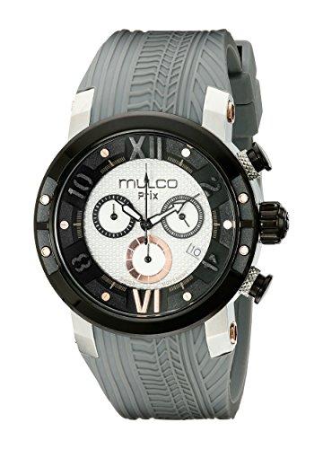 腕時計 マルコ メンズ MW5-3219-021 【送料無料】MULCO Men's MW5-3219-021 Prix Tire Analog Display Swiss Quartz Grey Watch腕時計 マルコ メンズ MW5-3219-021