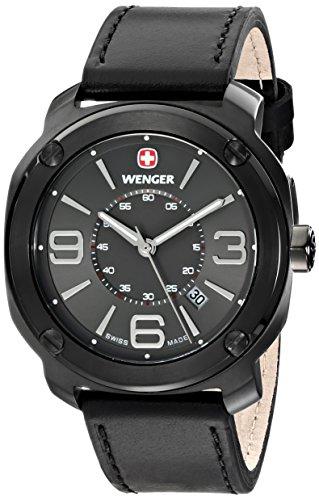 ウェンガー スイス メンズ 腕時計 01.1051.108 【送料無料】Wenger Men's 01.1051.108