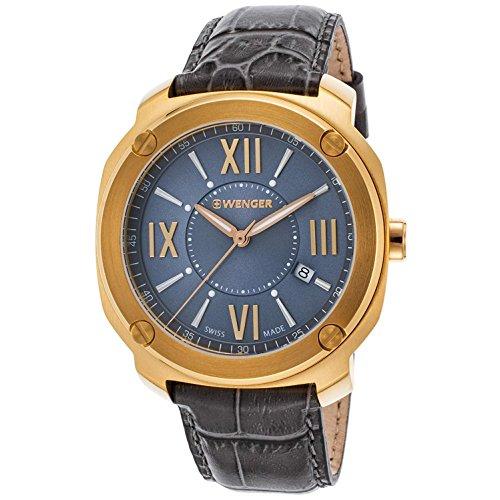 ウェンガー スイス メンズ 腕時計 01.1141.120 【送料無料】Wenger Edge Romans Quartz Movement Grey Dial Men's Watch 11141120ウェンガー スイス メンズ 腕時計 01.1141.120
