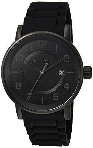 ウェンガー スイス メンズ 腕時計 01.0341.112 【送料無料】Wenger Men's Attitude Outdoor Stainless Steel Swiss-Quartz Watch with Silicone Strap, Black, 21 (Model: 01.0341.112)ウェンガー スイス メンズ 腕時計 01.0341.112