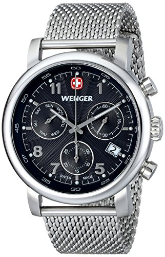 ウェンガー スイス メンズ 腕時計 01.1043.102 【送料無料】Wenger Men's 01.1043.102