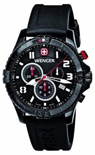 腕時計 ウェンガー スイス メンズ 腕時計 77053 【送料無料】Mens Watches WENGER Squadron Chronograph 77053腕時計 ウェンガー スイス メンズ 腕時計 77053