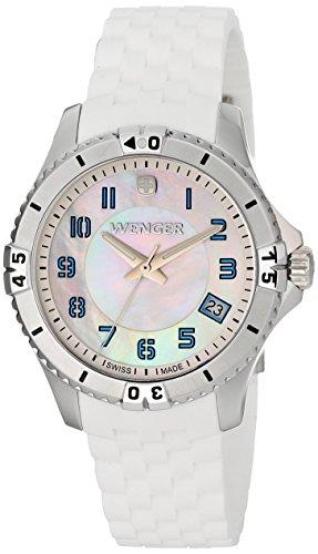 ウェンガー スイス 腕時計 レディース 0121.104 【送料無料】Wenger Women's 0121.104 Analog Display Swiss Quartz White Watchウェンガー スイス 腕時計 レディース 0121.104