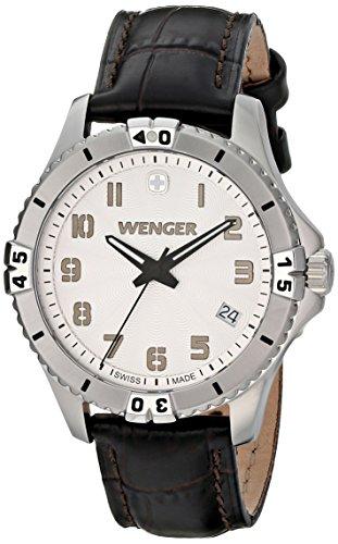 ウェンガー スイス 腕時計 レディース 0121.106 【送料無料】Wenger Women's 0121.106 Analog Display Swiss Quartz Black Watchウェンガー スイス 腕時計 レディース 0121.106