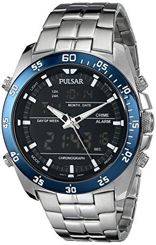 パルサー SEIKO セイコー 腕時計 メンズ PW6013 【送料無料】Pulsar Men's PW6013 Analog Display Japanese Quartz Silver Watchパルサー SEIKO セイコー 腕時計 メンズ PW6013