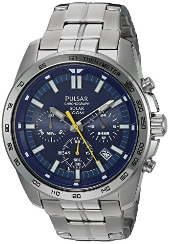 パルサー SEIKO セイコー 腕時計 メンズ PZ5001 Pulsar Men's Quartz Stainless Steel Dress Watch, Color: Silver-Tone (Model: PZ5001)パルサー SEIKO セイコー 腕時計 メンズ PZ5001