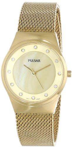 パルサー SEIKO セイコー 腕時計 レディース PH8056 Pulsar Women's PH8056 Gold-Tone Stainless Steel Watchパルサー SEIKO セイコー 腕時計 レディース PH8056