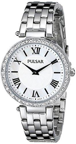 腕時計 パルサー SEIKO セイコー レディース PM2125 【送料無料】Pulsar Women's PM2125 Analog Display Japanese Quartz Silver Watch腕時計 パルサー SEIKO セイコー レディース PM2125