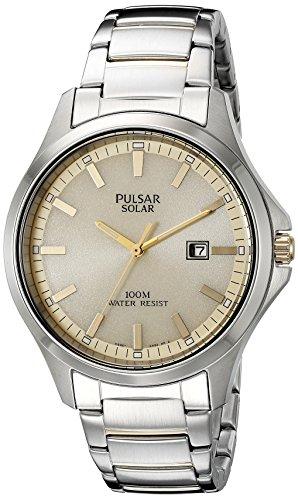 パルサー SEIKO セイコー 腕時計 メンズ PX3075 【送料無料】Pulsar Men's PX3075 Solar Dress Analog Display Japanese Quartz Two Tone Watchパルサー SEIKO セイコー 腕時計 メンズ PX3075