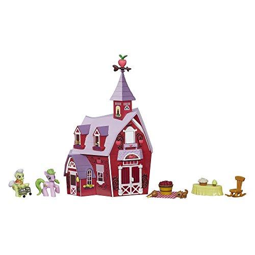 マイリトルポニー ハズブロ hasbro、おしゃれなポニー かわいいポニー ゆめかわいい B1371 My Little Pony Friendship is Magic Collection Sweet Apple Acres Barn Pack (Discoマイリトルポニー ハズブロ hasbro、おしゃれなポニー かわいいポニー ゆめかわいい B1371