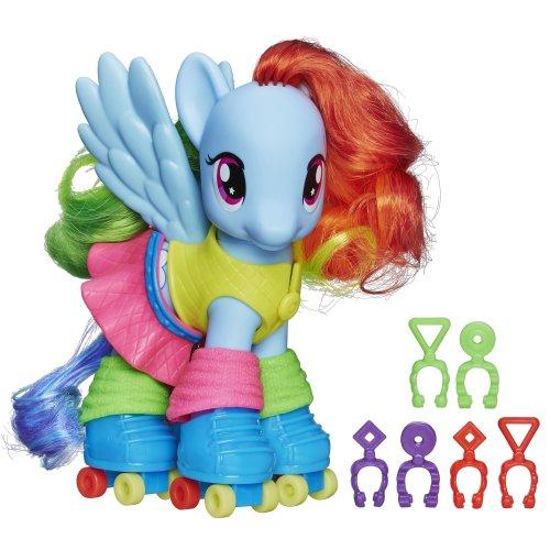 マイリトルポニー ハズブロ hasbro、おしゃれなポニー かわいいポニー ゆめかわいい A8829000 【送料無料】My Little Pony Fashion Style Rainbow Dash Figureマイリトルポニー ハズブロ hasbro、おしゃれなポニー かわいいポニー ゆめかわいい A8829000