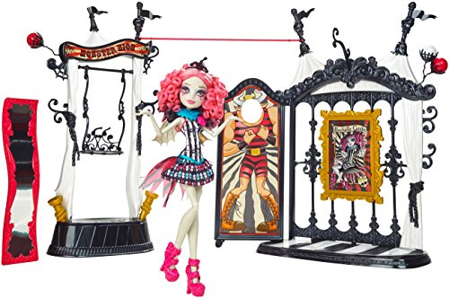 モンスターハイ 人形 ドール CHW68 Monster High Freak du Chic Circus Scaregrounds and Rochelle Goyle Doll Playsetモンスターハイ 人形 ドール CHW68
