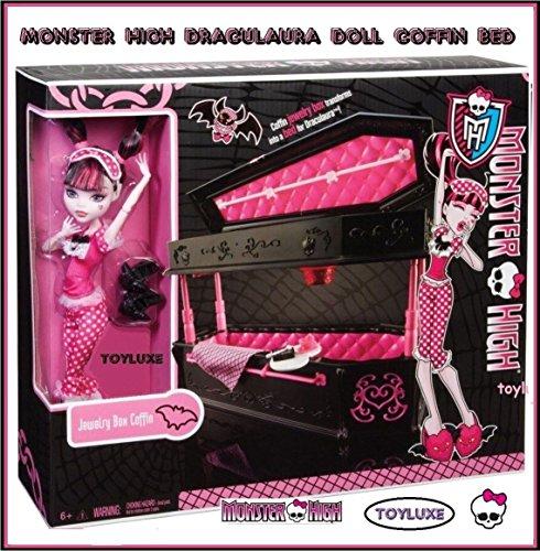 モンスターハイ 人形 ドール BDC40 【送料無料】Monster High Draculaura Doll & Jewelry Box Coffin Setモンスターハイ 人形 ドール BDC40
