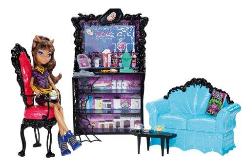 モンスターハイ 人形 ドール X3721 【送料無料】Monster High Coffin Bean and Clawdeen Wolf Doll Playsetモンスターハイ 人形 ドール X3721