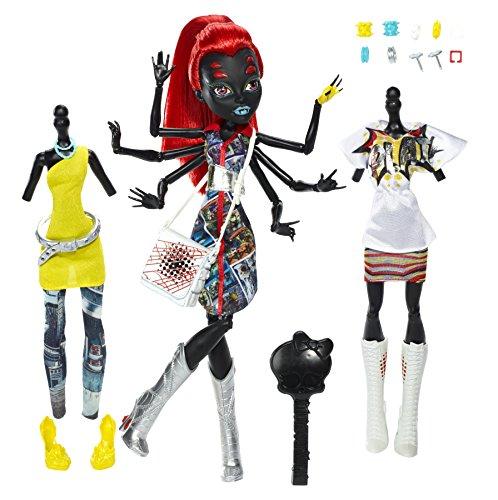 モンスターハイ 人形 ドール CBX44 【送料無料】Mattel CBX44 Monster High I Love Fashion Wydowna Spider Doll 10.5