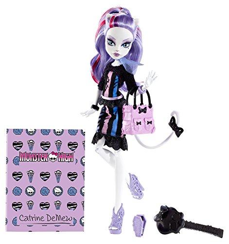 モンスターハイ 人形 ドール BGD88 【送料無料】Monster High New Scaremester Catrine DeMew Fashion Dollモンスターハイ 人形 ドール BGD88