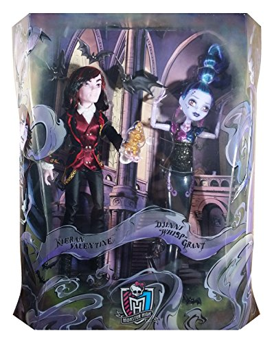 モンスターハイ 人形 ドール CGN14 Monster High Kieran Valentine & Djinni Whisp Grant SDCC 2015 Exclusive 2 Packモンスターハイ 人形 ドール CGN14