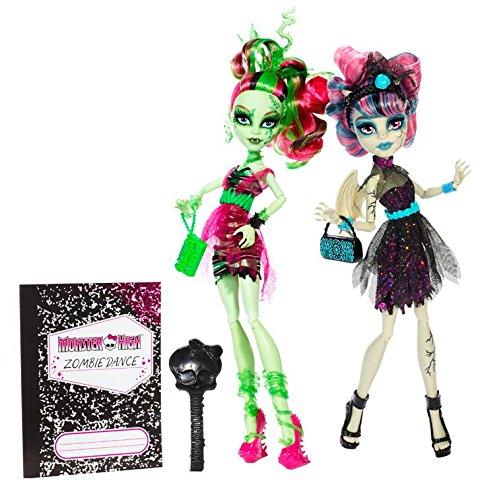 モンスターハイ 人形 ドール BJR17 Monster High Zombie Shake Rochelle Goyle and Venus McFlytrap Doll (2-Pack)モンスターハイ 人形 ドール BJR17