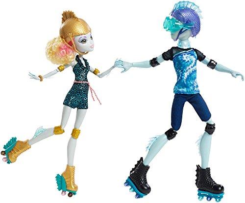 モンスターハイ 人形 ドール CJC47 【送料無料】Monster High Lagoona Blue and Gil Weber Wheel Love, Doll 2-Packモンスターハイ 人形 ドール CJC47