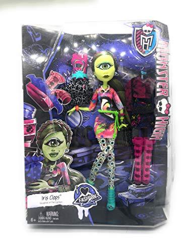 モンスターハイ 人形 ドール CKD73 【送料無料】Monster High I (Heart) Fashion Iris Clops Doll & Fashionモンスターハイ 人形 ドール CKD73