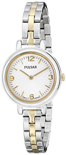 パルサー SEIKO セイコー 腕時計 レディース PM2087 Pulsar Women's PM2087 Easy Style Collection Analog Display Japanese Quartz Silver Watchパルサー SEIKO セイコー 腕時計 レディース PM2087