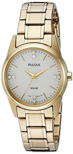 パルサー SEIKO セイコー 腕時計 レディース PY5004 Pulsar Women's PY5004 Solar Dress Analog Display Japanese Quartz Gold Watchパルサー SEIKO セイコー 腕時計 レディース PY5004