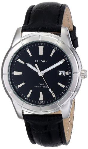 パルサー SEIKO セイコー 腕時計 メンズ PXH839X 【送料無料】Pulsar Men's PXH839X Analog Display Japanese Quartz Black Watchパルサー SEIKO セイコー 腕時計 メンズ PXH839X
