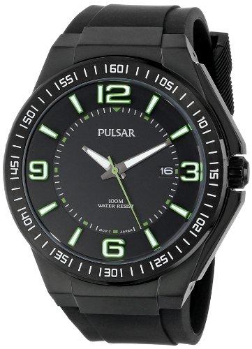 腕時計 パルサー SEIKO セイコー メンズ PS9227 【送料無料】Pulsar Men's PS9227 Analog Display Japanese Quartz Black Watch腕時計 パルサー SEIKO セイコー メンズ PS9227