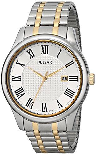 パルサー SEIKO セイコー 腕時計 メンズ PH9041 Pulsar Men's PH9041 Traditional Collection Analog Display Japanese Quartz Silver Watchパルサー SEIKO セイコー 腕時計 メンズ PH9041