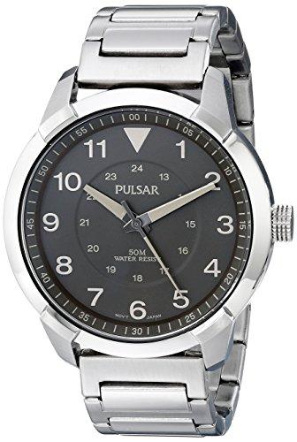 腕時計 パルサー SEIKO セイコー メンズ PG2025 【送料無料】Pulsar Men's PG2025 Analog Display Analog Quartz Silver Watch腕時計 パルサー SEIKO セイコー メンズ PG2025