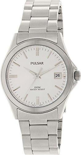 パルサー SEIKO セイコー 腕時計 メンズ PXH093 【送料無料】Men's Stainless Steel Dress Watch Silver Dialパルサー SEIKO セイコー 腕時計 メンズ PXH093