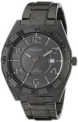 腕時計 パルサー SEIKO セイコー メンズ PS9315 【送料無料】Pulsar Men's PS9315 Analog Display Japanese Quartz Black Watch腕時計 パルサー SEIKO セイコー メンズ PS9315
