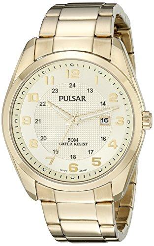 パルサー SEIKO セイコー 腕時計 メンズ PH9072 Pulsar Men's PH9072 Analog Display Analog Quartz Gold Watchパルサー SEIKO セイコー 腕時計 メンズ PH9072