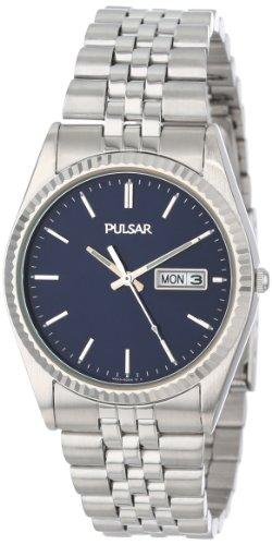 腕時計 パルサー SEIKO セイコー メンズ PXF277 【送料無料】Pulsar Men's PXF277 Dress Silver-Tone Stainless Steel Watch腕時計 パルサー SEIKO セイコー メンズ PXF277