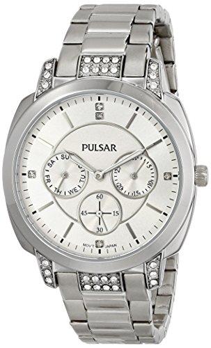 腕時計 パルサー SEIKO セイコー メンズ PP6133 【送料無料】Pulsar PP6133 Stainless Steel Watch Batteries腕時計 パルサー SEIKO セイコー メンズ PP6133