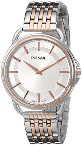 腕時計 パルサー SEIKO セイコー レディース PM2098 【送料無料】Pulsar Women's PM2098 Analog Display Japanese Quartz Two Tone Watch腕時計 パルサー SEIKO セイコー レディース PM2098