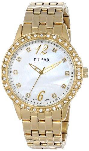 パルサー SEIKO セイコー 腕時計 レディース PH8052 Pulsar Women's PH8052 Analog Display Japanese Quartz Gold Watchパルサー SEIKO セイコー 腕時計 レディース PH8052