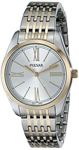腕時計 パルサー SEIKO セイコー レディース PG2008 【送料無料】Pulsar Women's PG2008 Japanese Quartz Two Tone Watch腕時計 パルサー SEIKO セイコー レディース PG2008