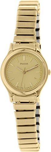 パルサー SEIKO セイコー 腕時計 レディース PRS504X 【送料無料】Pulsar 3-Hand Gold-Tone Expansion Band Women's watch #PRS504Xパルサー SEIKO セイコー 腕時計 レディース PRS504X