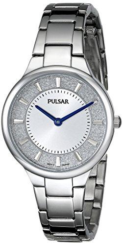 パルサー SEIKO セイコー 腕時計 レディース PM2129 【送料無料】Pulsar Women's PM2129 Analog Display Japanese Quartz Silver Watchパルサー SEIKO セイコー 腕時計 レディース PM2129