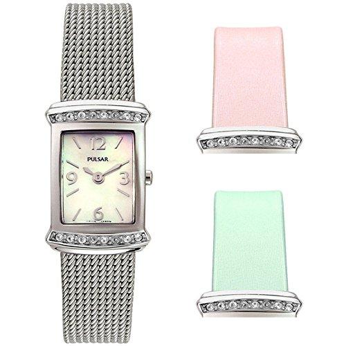 パルサー SEIKO セイコー 腕時計 レディース alpeg641 Pulsar - PEG641 - Ladies Watch with Interchangeable Bandsパルサー SEIKO セイコー 腕時計 レディース alpeg641