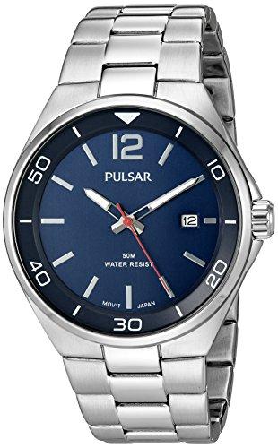 腕時計 パルサー SEIKO セイコー メンズ PS9325 【送料無料】Pulsar Men's PS9325 Analog Display Japanese Quartz Silver Watch腕時計 パルサー SEIKO セイコー メンズ PS9325