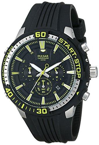 パルサー SEIKO セイコー 腕時計 メンズ PT3503 【送料無料】Pulsar Men's PT3503 On The Go Analog Display Japanese Quartz Black Watchパルサー SEIKO セイコー 腕時計 メンズ PT3503